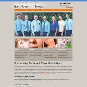 Boulder Valley Ear, Nose & Throat Medical Group
