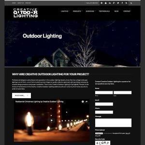 Creative Outdoor Lighting