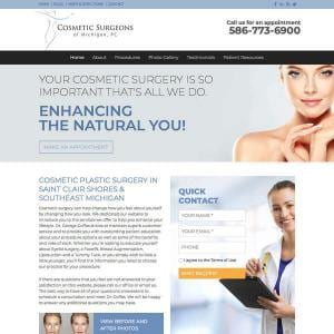 Cosmetic Surgeons of Michigan, P.C.