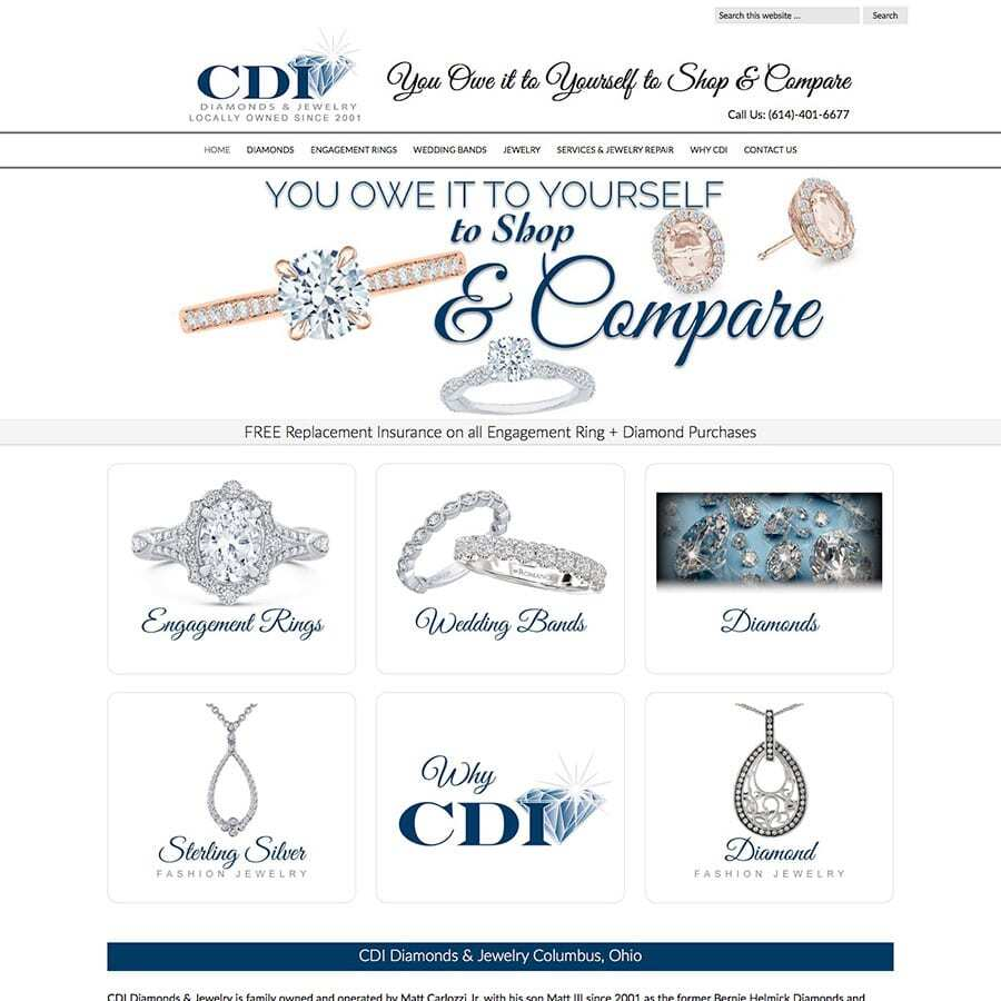 aa332349f CDI Diamonds & Jewelry - Wehrenberg Design Company
