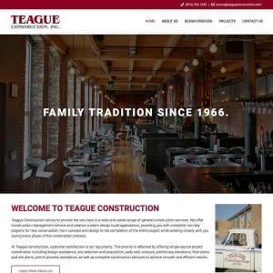 Teague Construction, Inc.