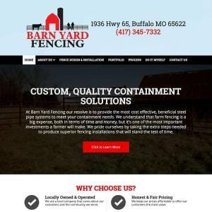 Barn Yard Fencing